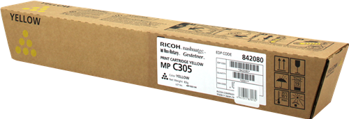 Toner Giallo 842080 Ricoh Aficio MP C305 Originale