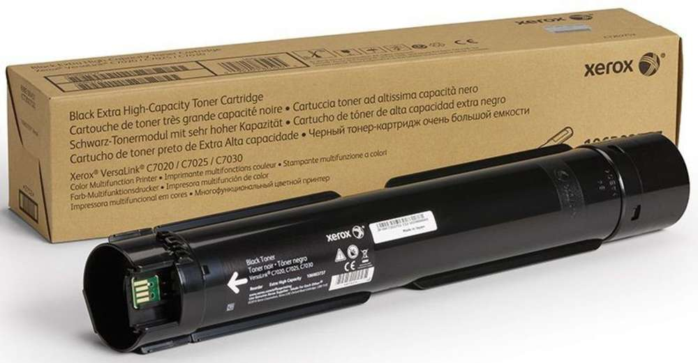 Toner Black Xerox 106R03737, for VersaLink C7020/C7025/C7030