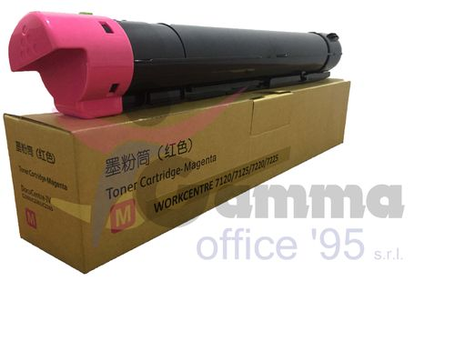 Toner Magenta Compatibile Xerox WorkCentre 7120 7125 7220 7225
